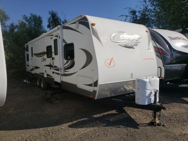 Keystone Cougar salvage cars for sale: 2012 Keystone Cougar