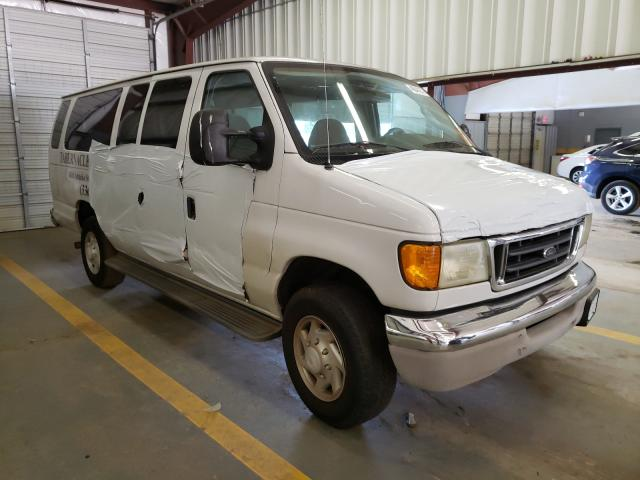 Salvage cars for sale from Copart Mocksville, NC: 2003 Ford Econoline