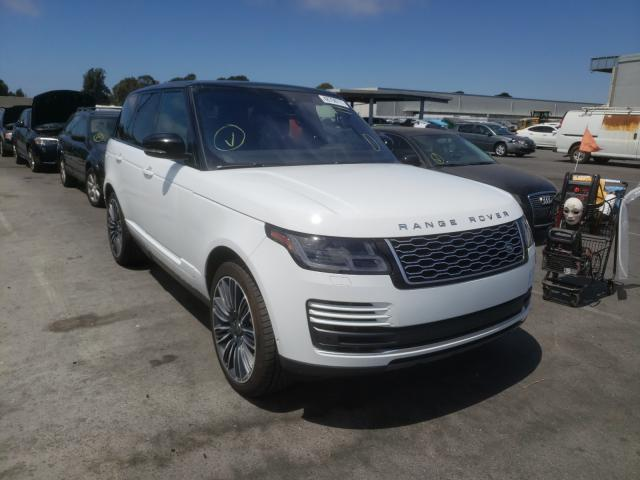 Upcoming salvage cars for sale at auction: 2019 Land Rover Range Rover