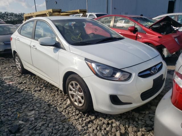 Salvage cars for sale at Windsor, NJ auction: 2012 Hyundai Accent