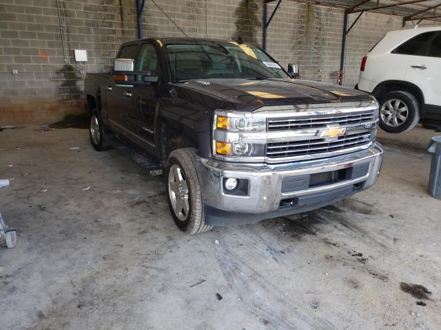 Salvage cars for sale from Copart Cartersville, GA: 2015 Chevrolet Silverado