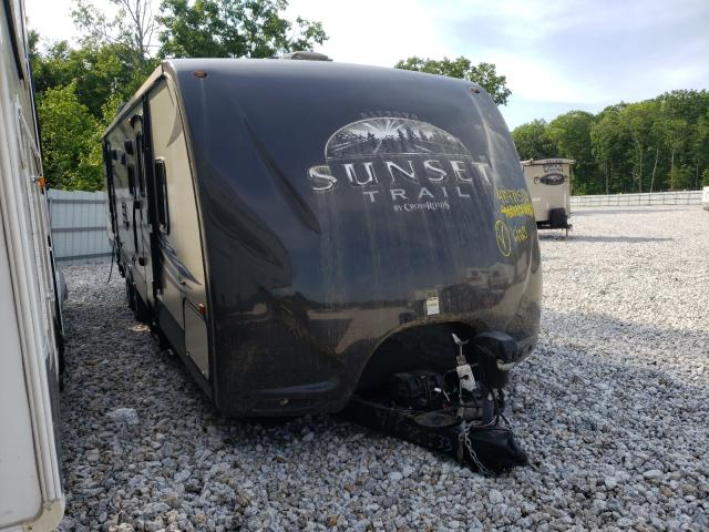 Sunnybrook salvage cars for sale: 2012 Sunnybrook Travel Trailer