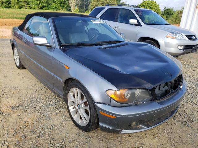 Salvage cars for sale from Copart Concord, NC: 2004 BMW 330 CI