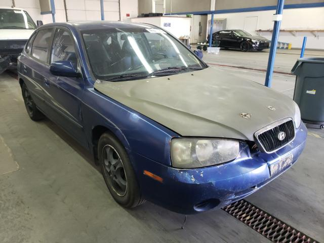 Salvage cars for sale from Copart Pasco, WA: 2001 Hyundai Elantra GL