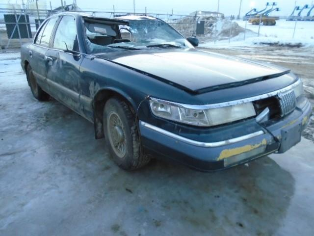 Salvage cars for sale from Copart Nisku, AB: 1994 Mercury Grand Marq