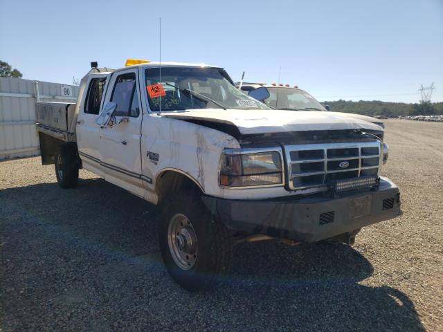 Salvage cars for sale from Copart Anderson, CA: 1997 Ford F350