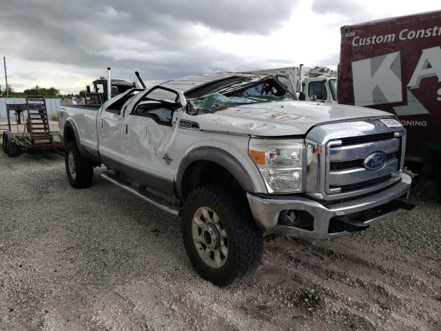 Salvage trucks for sale at Apopka, FL auction: 2014 Ford F350 Super