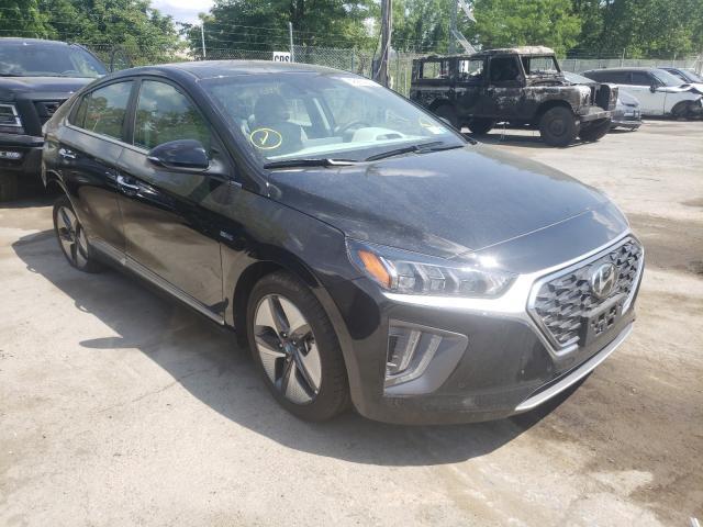 Salvage cars for sale from Copart Marlboro, NY: 2020 Hyundai Ioniq Limited