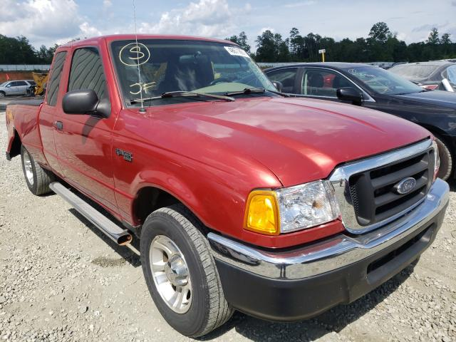 Ford Ranger SUP salvage cars for sale: 2004 Ford Ranger SUP