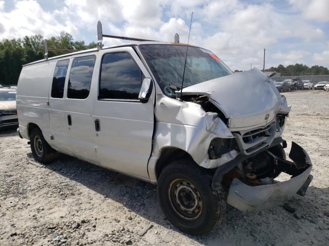 Salvage cars for sale from Copart Tifton, GA: 2002 Ford Econoline