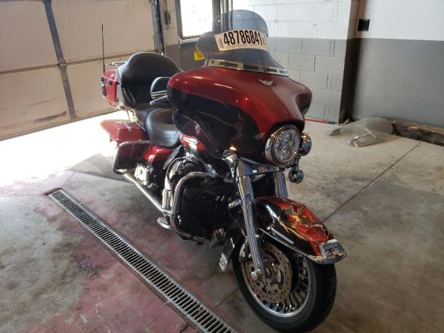 Salvage motorcycles for sale at Sandston, VA auction: 2012 Harley-Davidson Flhtk Elec