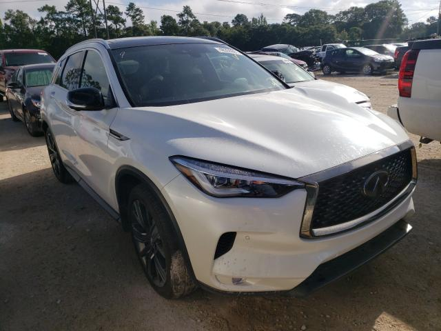 Infiniti salvage cars for sale: 2020 Infiniti QX50 Pure