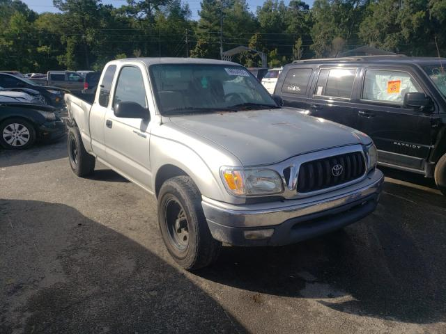 Salvage cars for sale from Copart Savannah, GA: 2003 Toyota Tacoma XTR