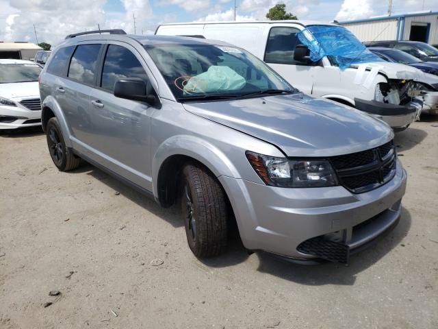 Salvage cars for sale from Copart Riverview, FL: 2020 Dodge Journey SE