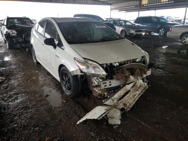 Salvage cars for sale from Copart Houston, TX: 2015 Toyota Prius