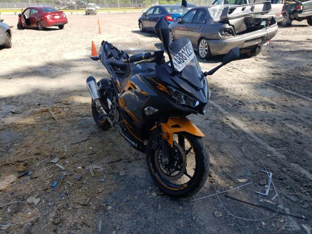 Salvage cars for sale from Copart Waldorf, MD: 2018 Kawasaki EX400