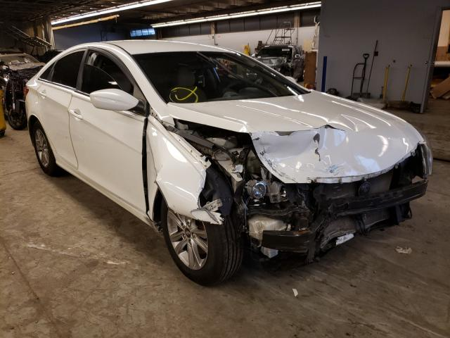 Salvage cars for sale from Copart Wheeling, IL: 2011 Hyundai Sonata GLS