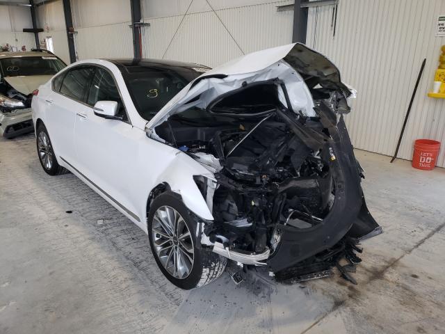 Genesis salvage cars for sale: 2017 Genesis G80 Base