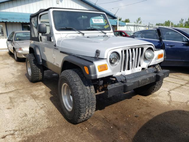 Salvage cars for sale from Copart Pekin, IL: 2003 Jeep Wrangler