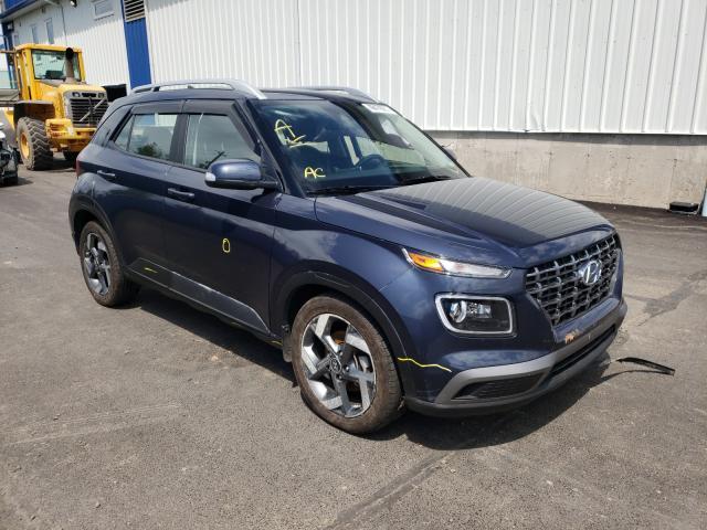 Salvage cars for sale at Moncton, NB auction: 2020 Hyundai Venue SEL