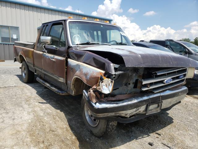 Salvage cars for sale from Copart Chambersburg, PA: 1991 Ford F150