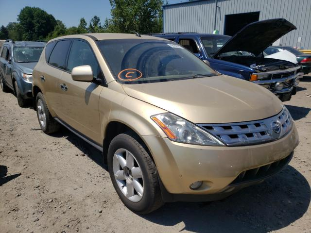 Salvage cars for sale at Portland, OR auction: 2003 Nissan Murano SL