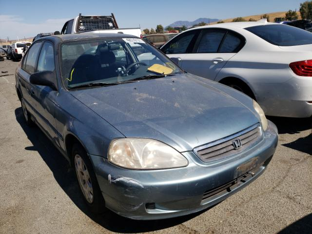 Salvage cars for sale from Copart Martinez, CA: 2000 Honda Civic Base