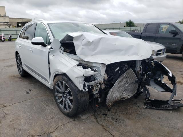 Salvage cars for sale from Copart Tulsa, OK: 2019 Audi Q7 Premium
