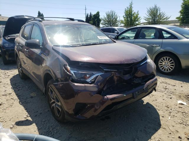 Salvage cars for sale from Copart Eugene, OR: 2017 Toyota Rav4 LE