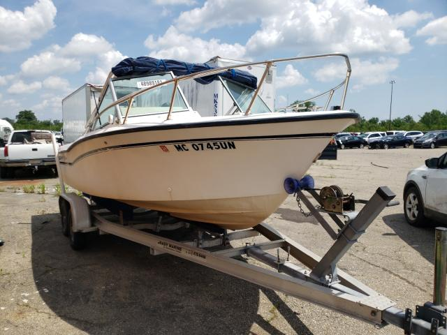 Gradall salvage cars for sale: 1989 Gradall Boat / TRA