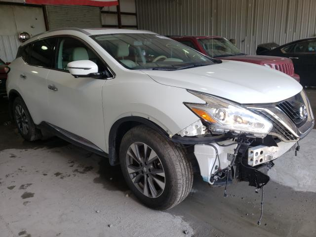 Salvage cars for sale from Copart Albany, NY: 2017 Nissan Murano S