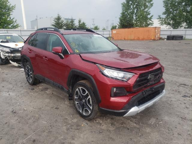 Salvage cars for sale from Copart Ontario Auction, ON: 2019 Toyota Rav4 Adven