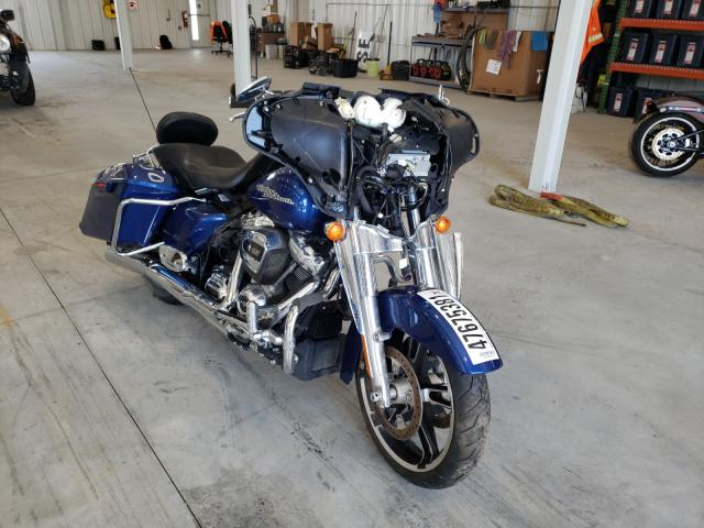 Salvage cars for sale from Copart Avon, MN: 2017 Harley-Davidson Flhx Street