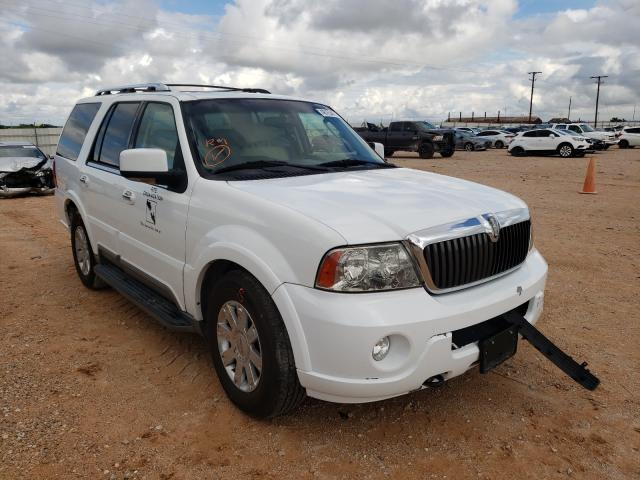 Salvage cars for sale from Copart Andrews, TX: 2003 Lincoln Navigator