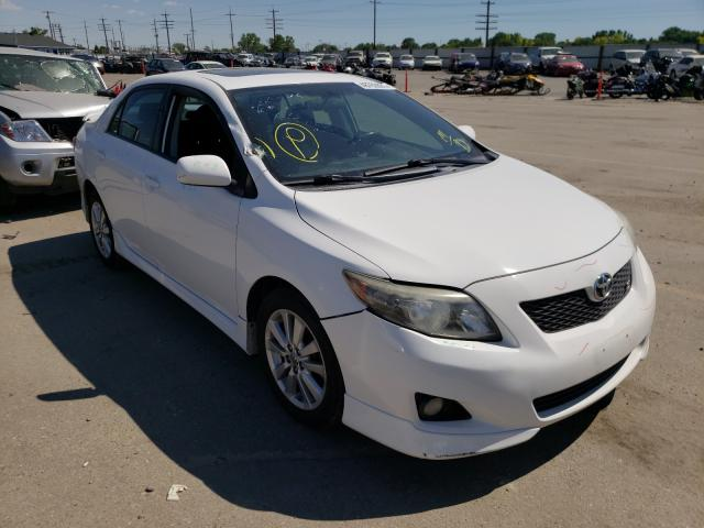 Salvage cars for sale at Nampa, ID auction: 2009 Toyota Corolla BA