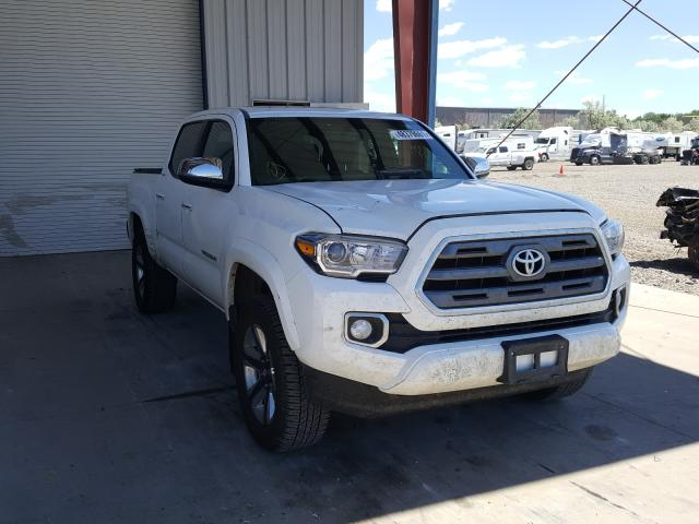 Salvage cars for sale from Copart Billings, MT: 2016 Toyota Tacoma DOU