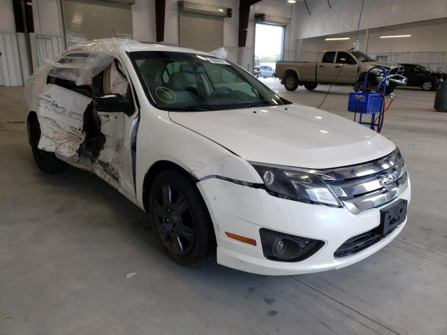Salvage cars for sale from Copart Avon, MN: 2010 Ford Fusion SE