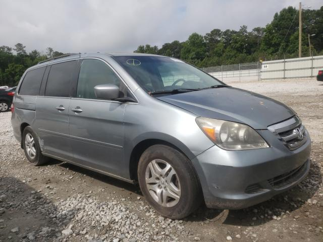 Honda Odyssey salvage cars for sale: 2007 Honda Odyssey
