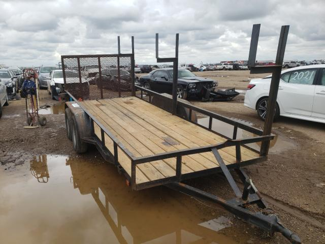Salvage cars for sale from Copart Amarillo, TX: 2014 Utility Flatbed TR