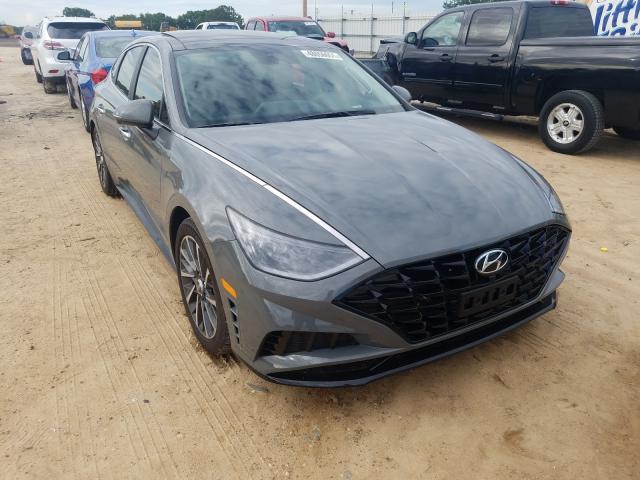 Salvage cars for sale from Copart Newton, AL: 2021 Hyundai Sonata LIM