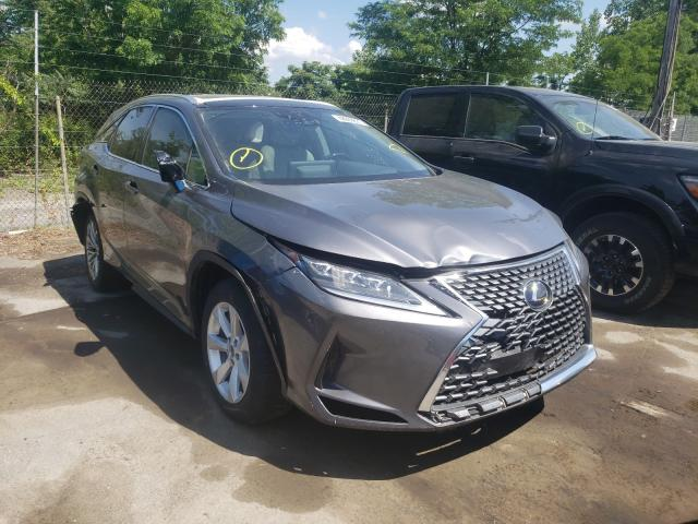 Salvage cars for sale from Copart Marlboro, NY: 2020 Lexus RX 450H