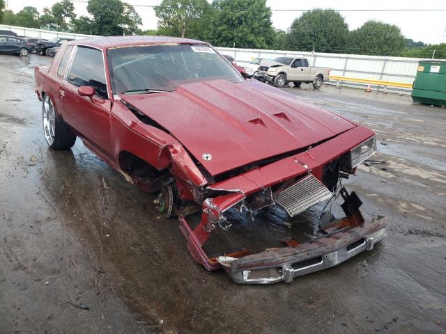 Oldsmobile salvage cars for sale: 1985 Oldsmobile Cutlass SU