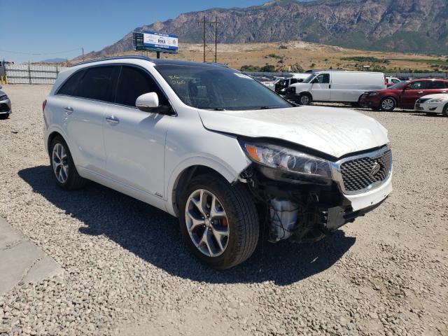 KIA salvage cars for sale: 2018 KIA Sorento SX