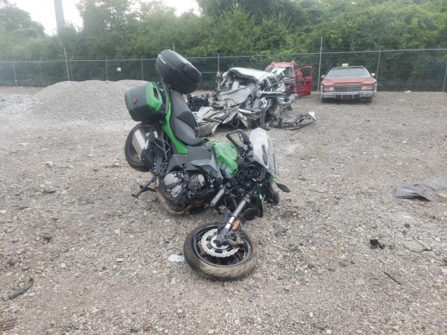Salvage motorcycles for sale at Columbus, OH auction: 2020 Kawasaki KLZ1000 D
