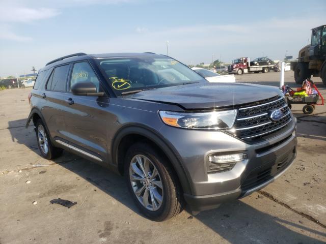 Vehiculos salvage en venta de Copart Woodhaven, MI: 2021 Ford Explorer X