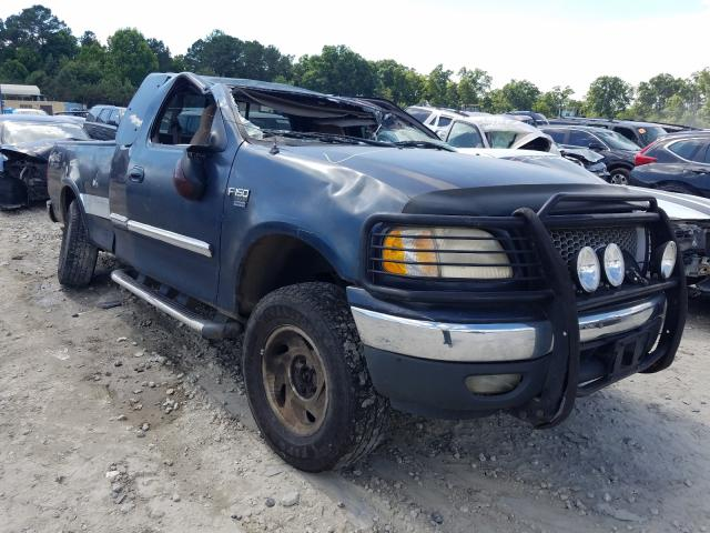 Salvage cars for sale from Copart Ellenwood, GA: 1999 Ford F150