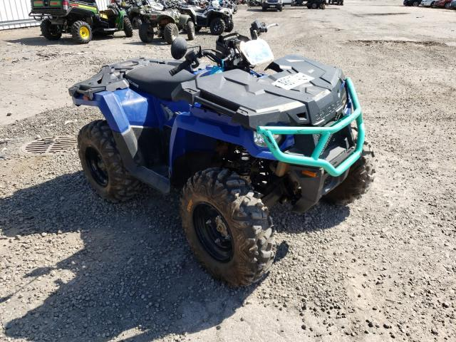 Salvage cars for sale from Copart West Mifflin, PA: 2020 Polaris Sportsman