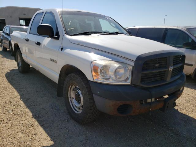 Salvage cars for sale from Copart Nisku, AB: 2008 Dodge RAM 1500 S