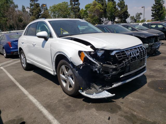 Audi Q3 salvage cars for sale: 2020 Audi Q3