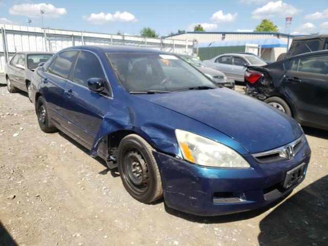 Salvage cars for sale at Finksburg, MD auction: 2006 Honda Accord EX